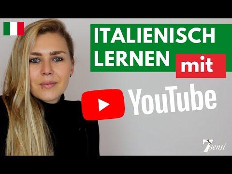 italienisch lernen mit 7sensi youtube