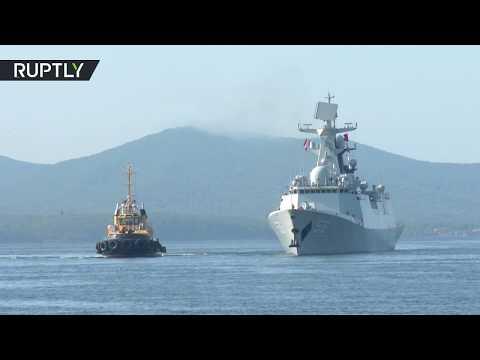 Ships, subs & helicopters: Russia & China kick off massive naval drills near Korean Peninsula