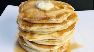 EASY OLD FASHIONED PANCAKES RECIPE| EASY BREAKFAST RECIPE |FLUFFY PANCAKES| PANCAKE RECIPE