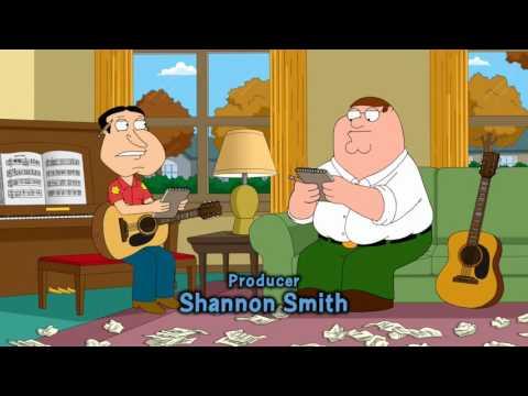 Family Guy - Peter and Quagmire Write Lyrics