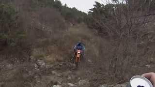 qingqi skymoto matador II  200 испытание грязью и скалами