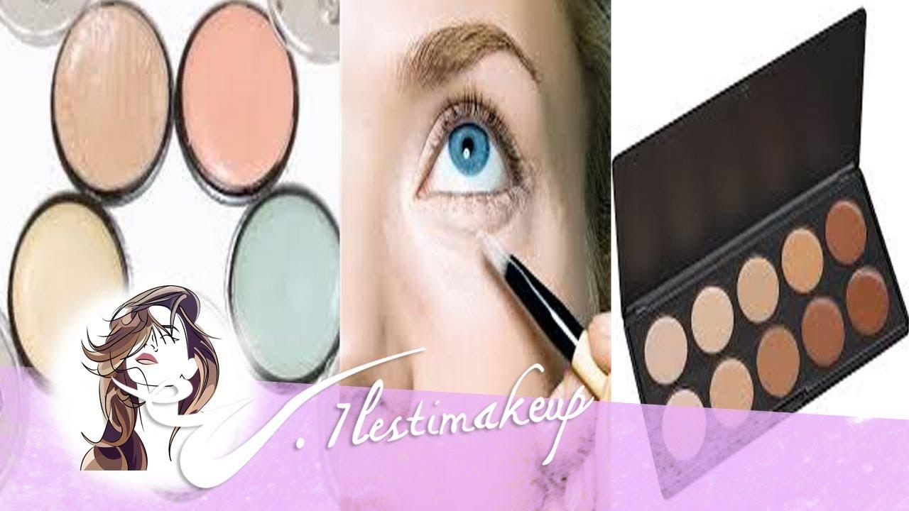 5bd0333dc Como utilizar los correctores de maquillaje. - YouTube