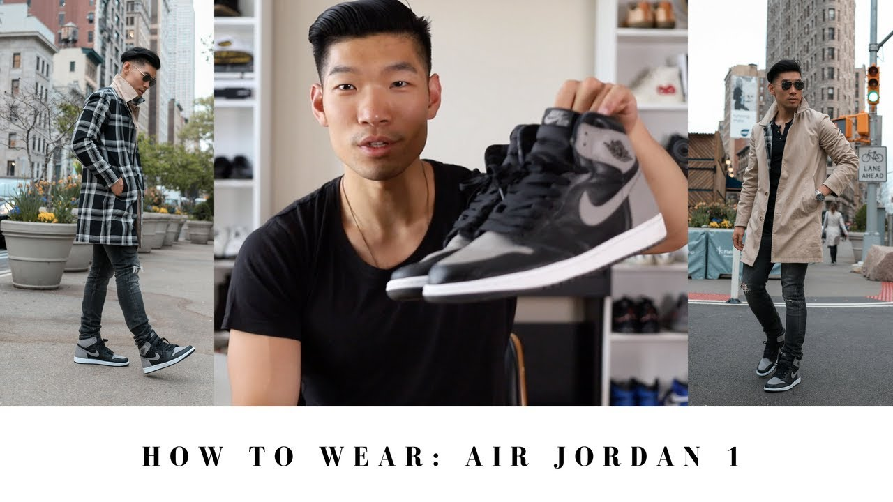 ad31a6dddccdd1 How to Wear Air Jordan 1