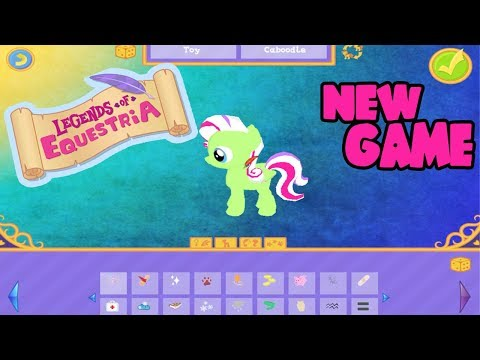 """My Little Pony """"Legends of Equestria"""" 2017 Gameplay Character Creation!!"""
