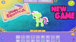 NEW Legends of Equestria Gameplay 2017! My Little Pony Character Creation Flying Ponies