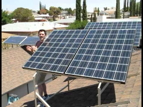 Solar Power (From Sunlight To Outlet)