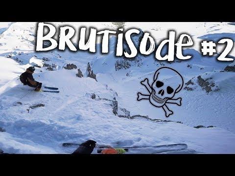 BRUTISODE #2 - TU TOMBES T'ES MORT - Winteractivity Ski Freeride