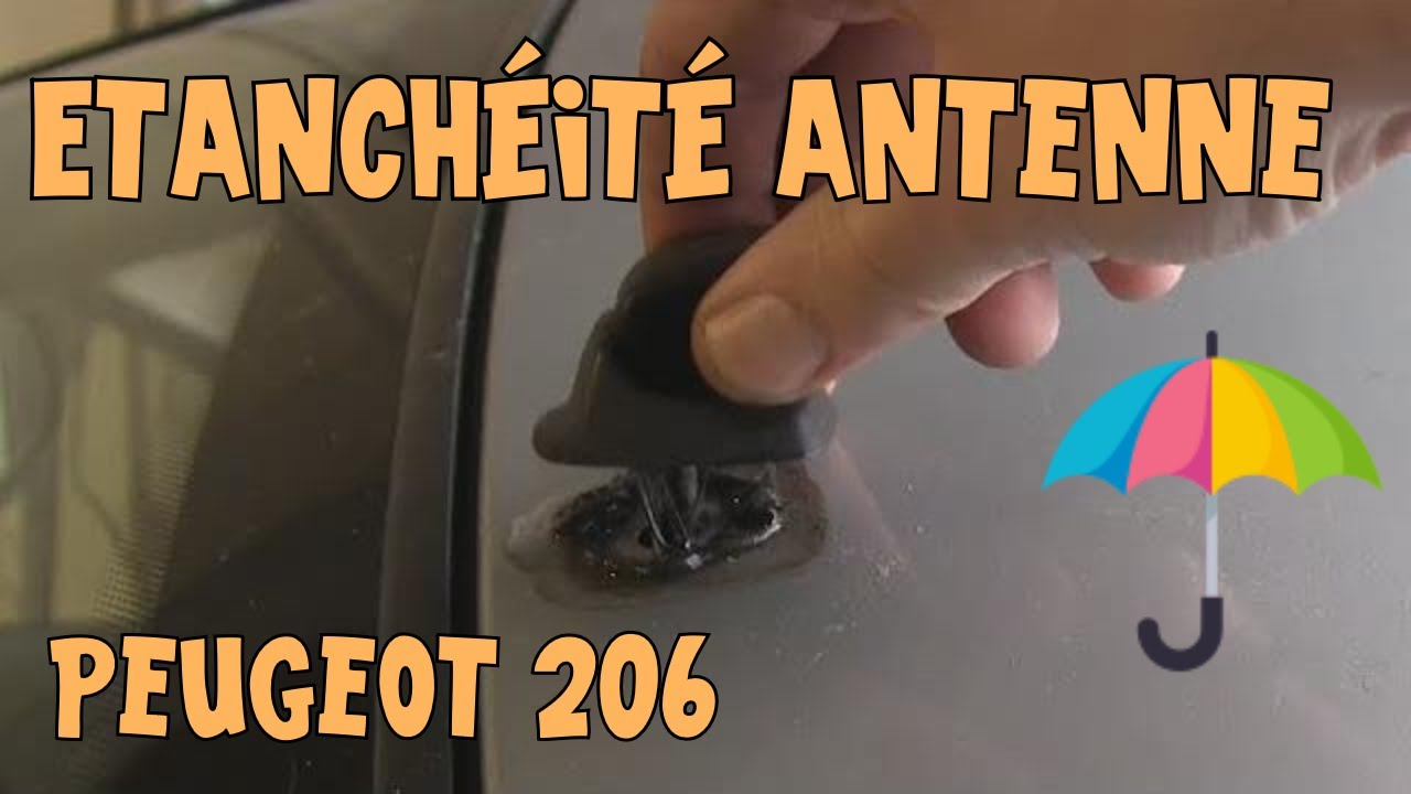 tutoriel 206 03 etancheit antenne youtube