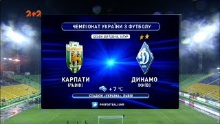 Karpaty Lviv vs Dynamo Kyiv full match