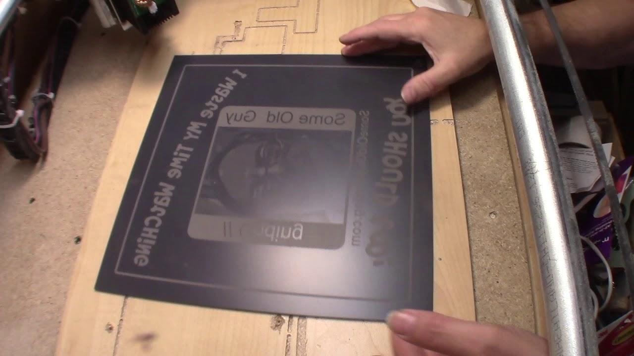 MPCNC Episode 38C Marking a Mirror