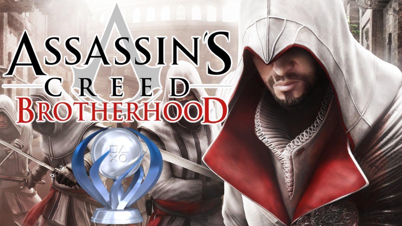 Assassin's Creed Brotherhood Remastered - Troféu de Platina!!!! [ PS5 - Playthrough 4K ]