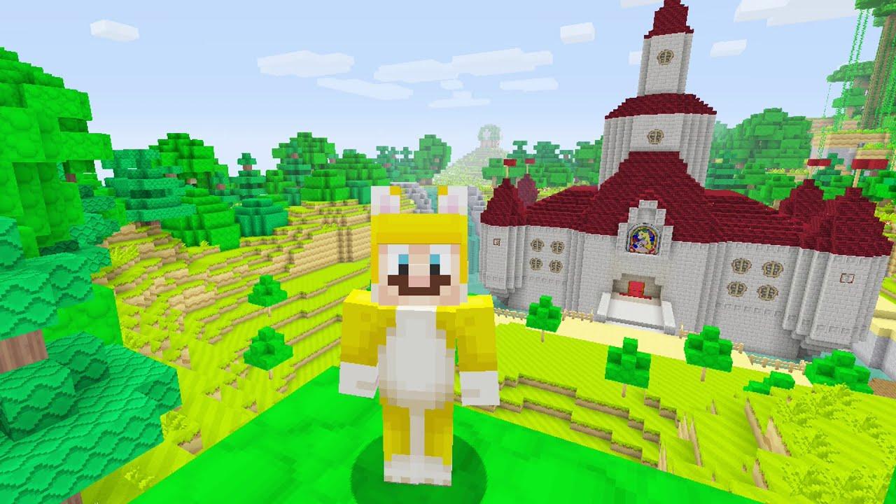 Minecraft Super Mario Edition Peach S Castle