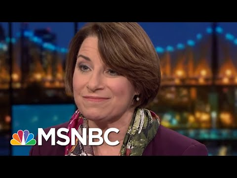 Amy Klobuchar Campaign Launch Emphasizes Democrats' Midwest Momentum   Rachel Maddow   MSNBC