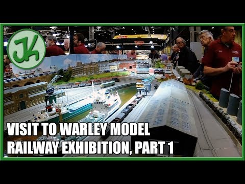 Visit to Warley Model Railway Exhibition, part 1  JennyCam 43