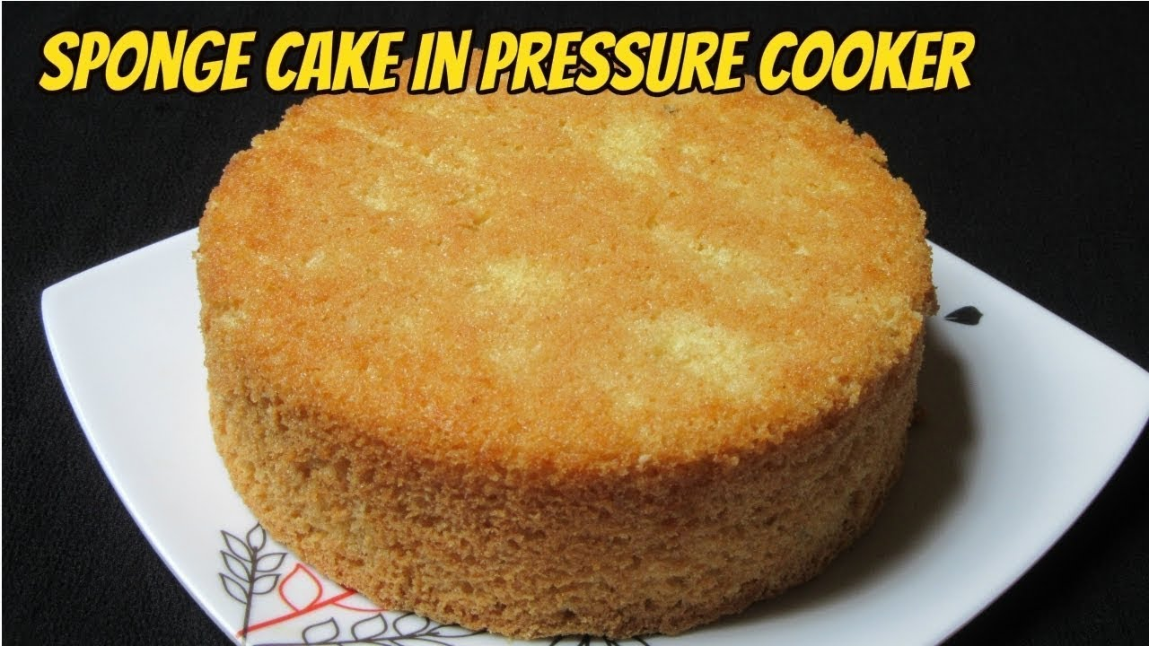 How to make sponge cake in cooker without egg