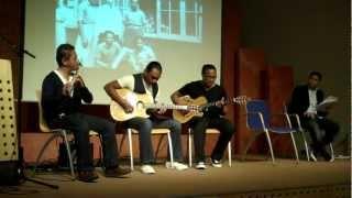 21 juni 2012 Muzikale impressie vanuit de groep uit Westerbork