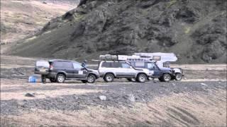 Iceland trip Dutch LandCruiser Club 2015