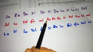 melodikada Samanyolu şarkısının MÜZİK ÖĞRETMENİ eşliğinde çalışılması