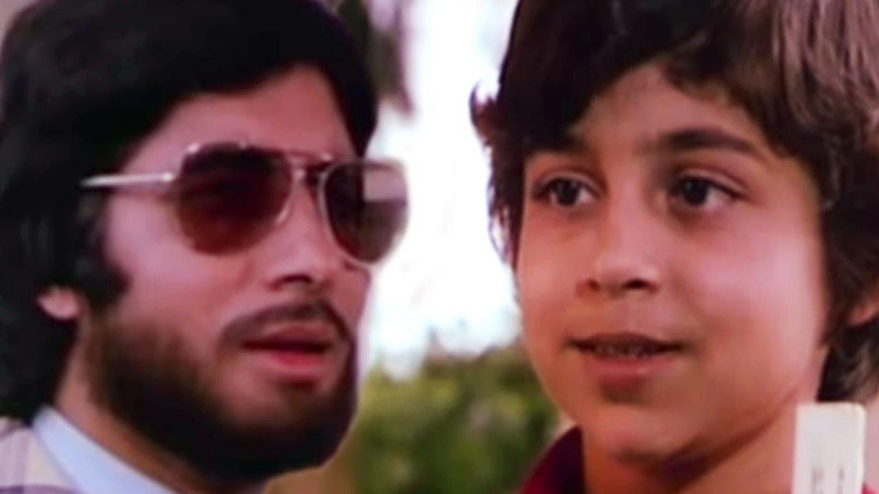 Download Amitabh Bachchan meets his son | Do Anjaane | Bollywood Scene 23/31