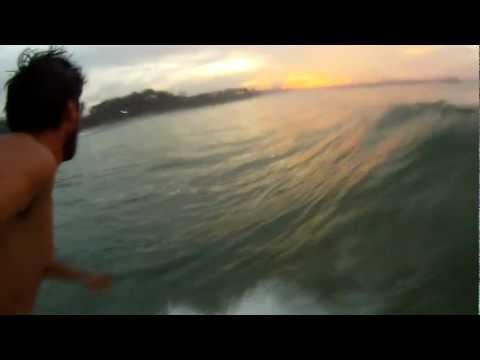 Mellow dawn surf Weligama Sri Lanka