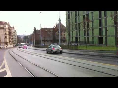 2 trams tango Genève