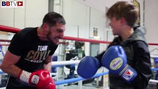EXCLUSIVE TOMMY COYLE KO SPARRING FOOTAGE