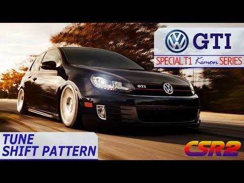 CSR2 - GOLF GTI - MAX TUNE - SPECIAL T1 KIMON SERIES - YouTube