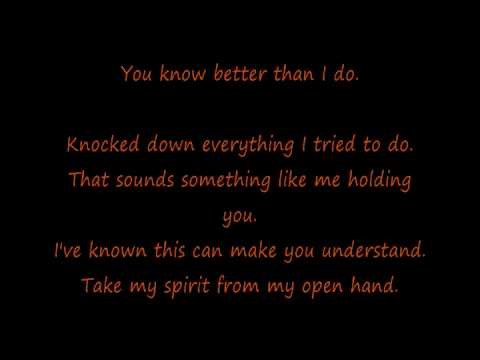 Calvin Harris- You Used To Hold Me (LYRICS)