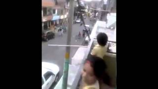 Driving Dog In Colombia Must See!!! AMAZING