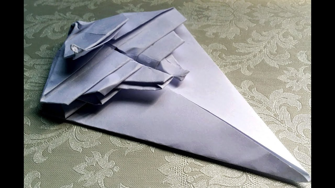 How to fold: Origami Star Wars First Order Star Destroyer ... - photo#20