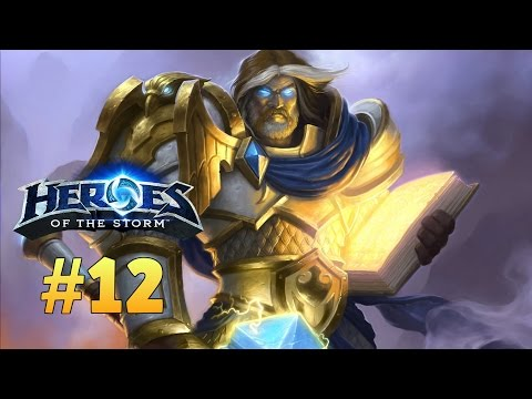 Heroes of the Storm | Uther - Build Full Curación | EP12 | Gameplay Español