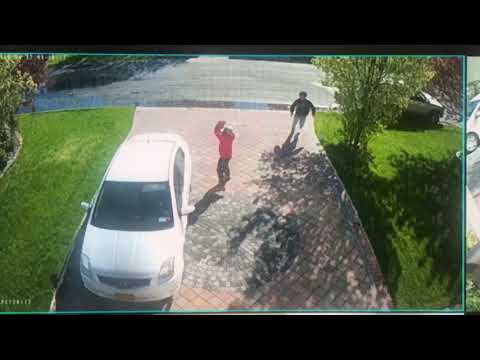 Suffolk County Crime Stoppers and Suffolk County Police Third Squad detectives are seeking the public's help to identify and locate the men who broke car windows in Bay Shore last month.