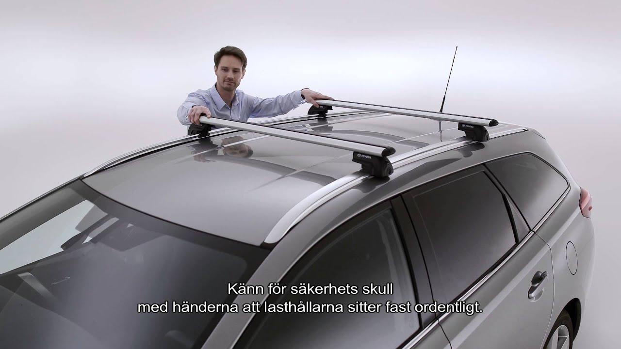 Toyota Lasth 229 Llare Crossbars Youtube