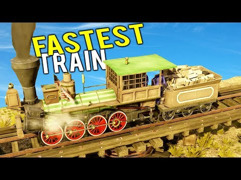 FASTEST WILD WEST TRAIN SETS A NEW WORLD RECORD! Company Revenue Explodes! - Railway Empire Gameplay