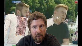 Бандеровец напал на НТВ