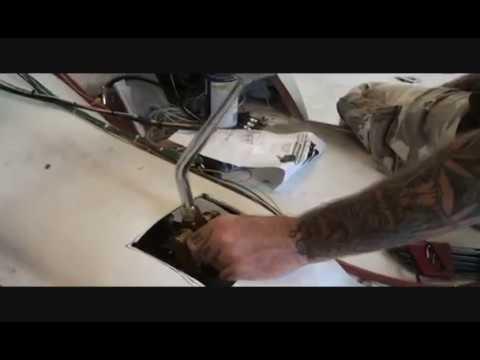 How To Install A Lokar Floor Shifter Part 1 Youtube
