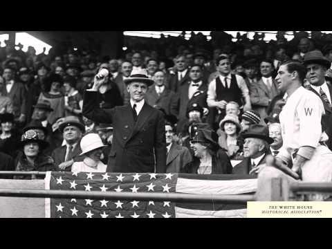 Calvin Coolidge and the Washington Senators