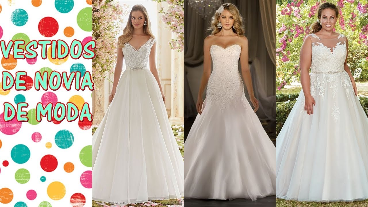 Mejores vestidos novia 2019