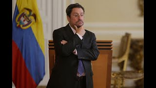 Duque llama a Pacho Santos a Bogotá para que explique polémica charla con nueva canciller