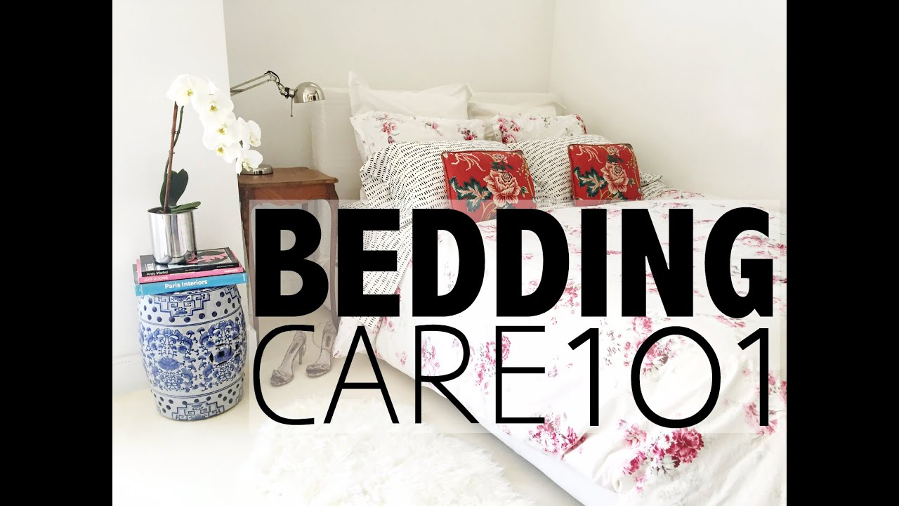 Bedding Care 101 How To Wash A Duvet Pillows Fold A Fitted Sheet