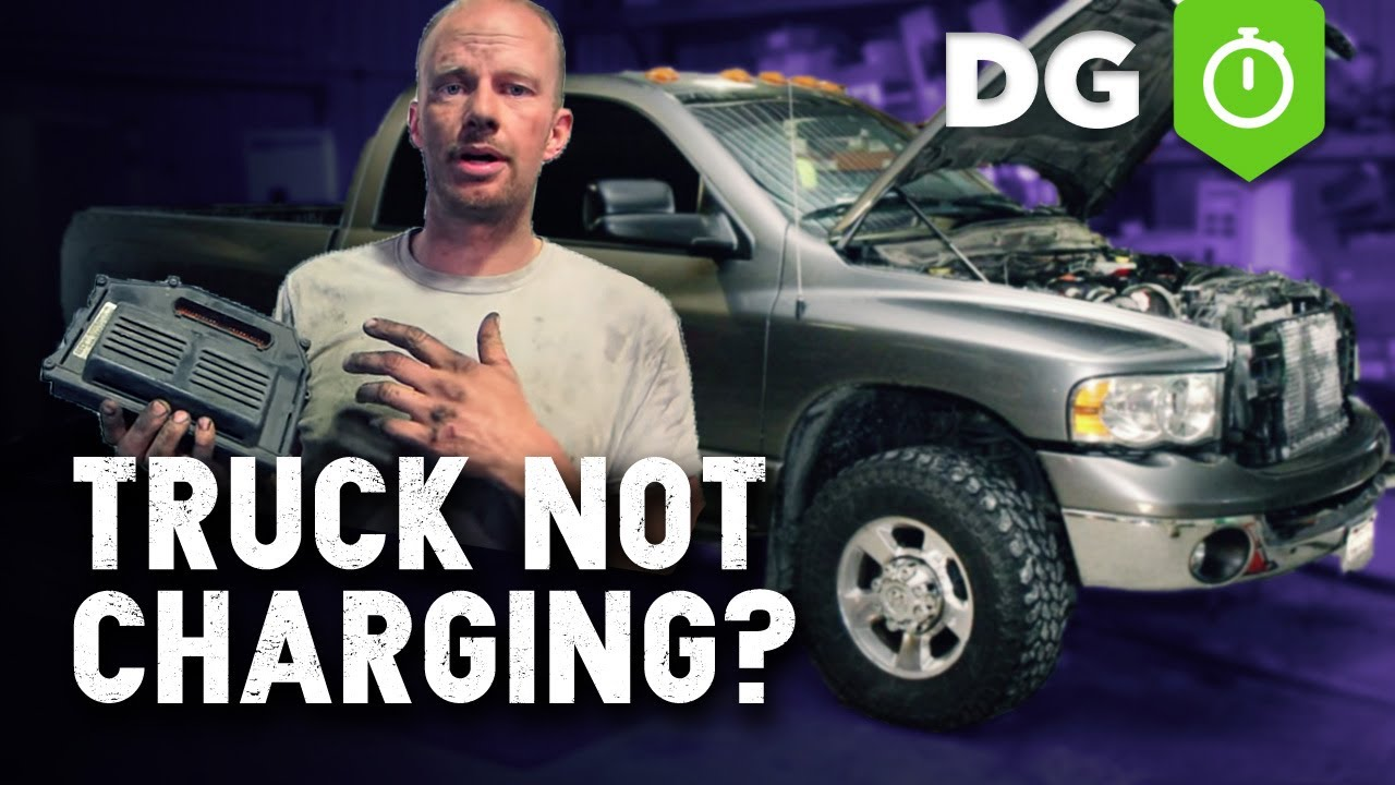 1st 2nd Gen Dodge Truck Not Charging Cheap Ecu Fix Youtube 98 Ram Alternator Wiring