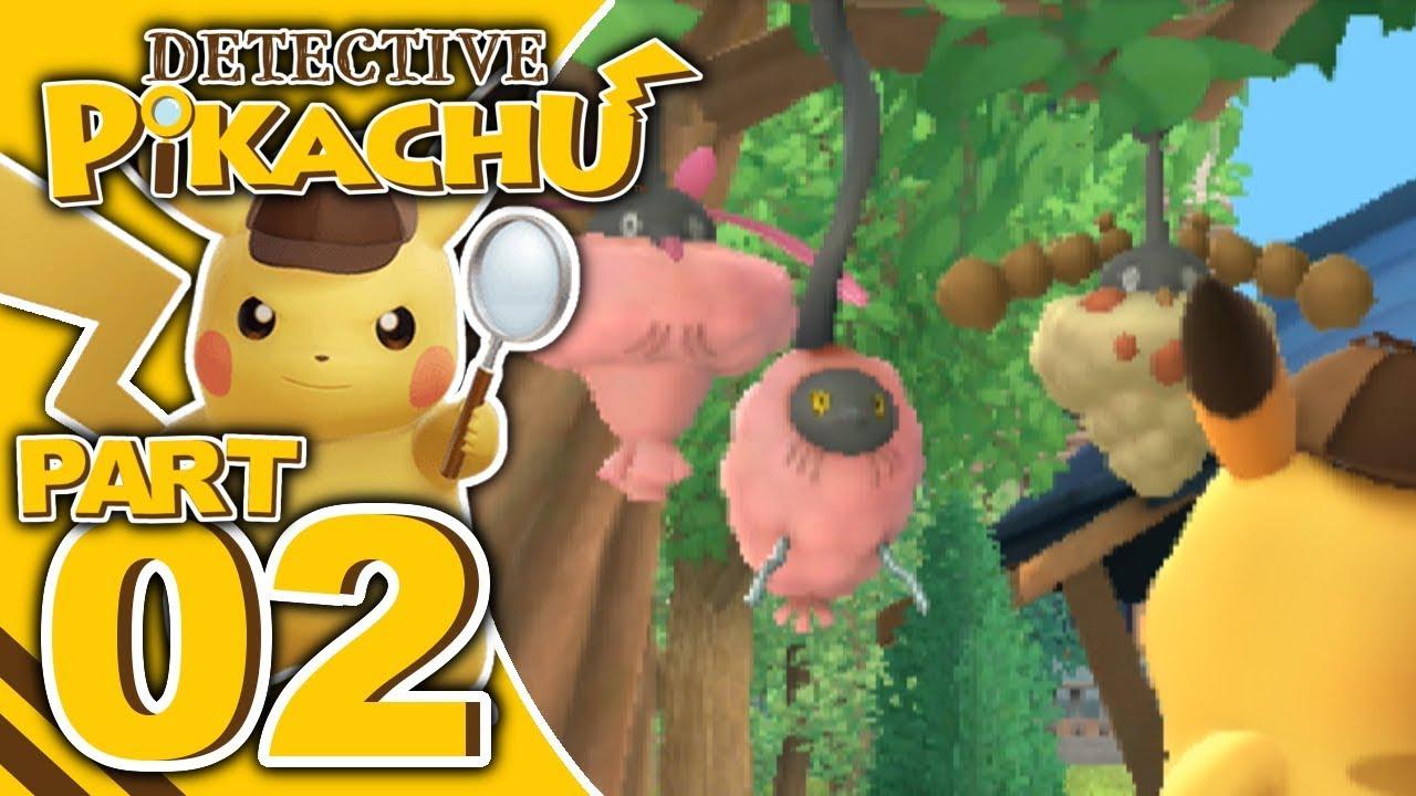 detective pikachu 3ds gameplay
