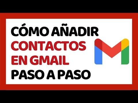 🔴 Cómo Agregar Contactos En Gmail 2020