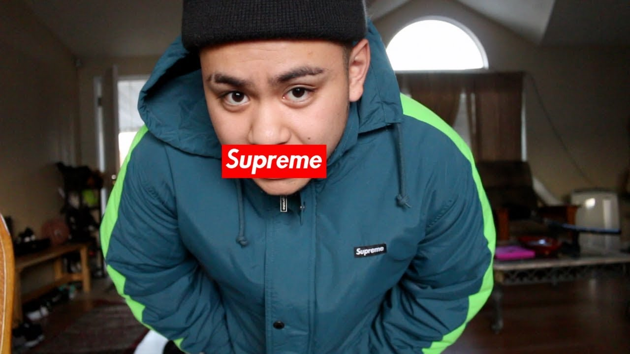 2a99d4973 SUPREME STADIUM PARKA!!! | SLATE COLOR!! | FITTING!! | THOUGHTS ...