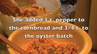 How To Make Oyster Stuffing And Cornbread Dressing