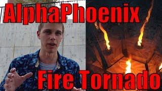DIY Fire Tornado (the original no-moving-parts design!)