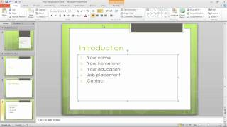 how to add bullets and list numbering in powerpoint