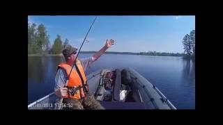 Рыбалка озеро Вуокса 2014