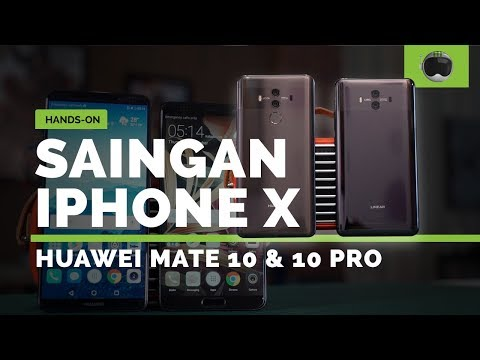 Hands-on Huawei Mate 10 & Mate 10 Pro Indonesia