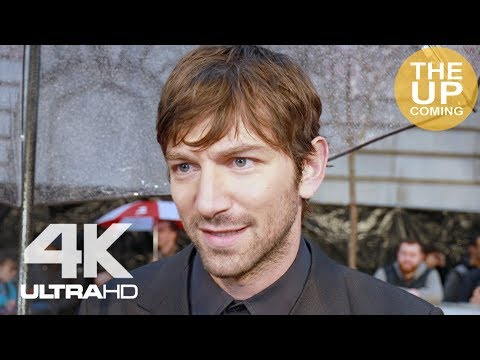 Michiel Huisman interview at The Guernsey Literary and Potato Peel Pie Society premiere